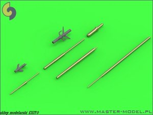 MASTER 48-121 - 1:48 Su-15 (Flagon) - Pitot Tubes (optional parts for all versions)