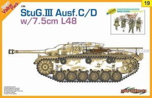 DRAGON / CYBER HOBBY 9119 - 1:35 StuG.III Ausf.C w/7,5cm L48 & Panzergrenadiers Wiking Division
