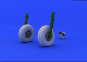 EDUARD 624001 - 1:24 Typhoon wheels