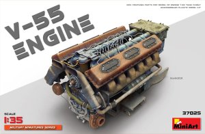 MINIART 37025 - 1:35  V-55 Engine for T-55 tanks family