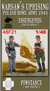 TORO MODEL 48F21 - 1:48 Warsaw's Uprising - Insurgents