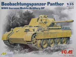 ICM 35571 - 1:35 Beobachtungspanzer Panther, WWII German Mobile Artillery OP