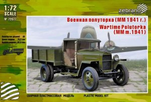 ZEBRANO 72077 - 1:72  Wartime Polutorka (MM M.1941 Truck)