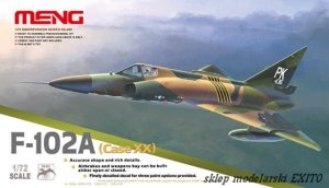 MENG MODEL DS005 - 1:72 F-102A Delta Dagger (Case XX)