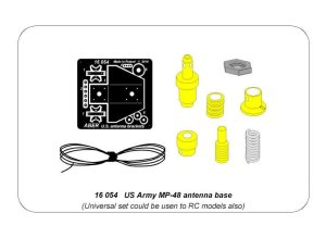 ABER 16054 - 1:16 US Army MP-48 antenna base