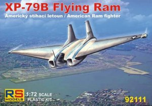 RS MODELS 92111 - 1:72 XP-79B Flying Ram