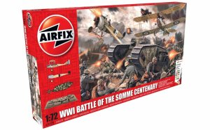 AIRFIX 50178 - 1:72 WWI Battle of the Somme Gift Set