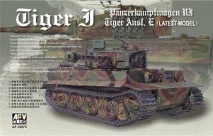 AFV CLUB 35079 - 1:35 Pz.Kpfw. VI Tiger Late