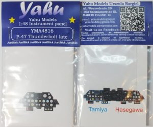 YAHU YMA4816 - 1:48 P-47 D late - Instrument Panel