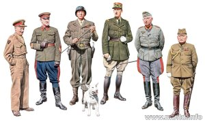 MASTER BOX  35108 - 1:35 The Generals of WW II - the most famous generals of WW II