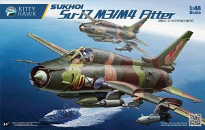 KITTY HAWK 80144 - 1:48 Sukhoi Su-17 M3/M4 Fitter-K