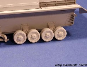 PANZERART 35154 - 1:35 Road Wheels for Pz.Kpfw. IV for Dragon Kits (Ausf. E-H)