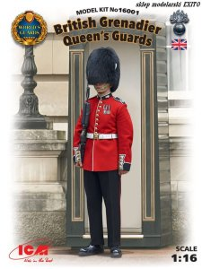 ICM 16001 - 1:16 British Grenadier Queens Guards