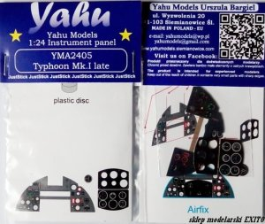 YAHU YMA2405 - 1:24 Typhoon Mk.I late - Instrument Panel