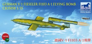 BRONCO CB 35058 - 1:35 German V-1 Fi103 A-1 Flying Bomb