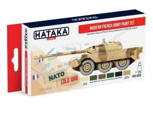 HATAKA AS25 - Modern French Army paint set