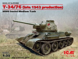 ICM 35366 - 1:35 ?-34/76 - late 1943 production
