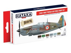 HATAKA AS16 - Early WW2 French Air Force paint set