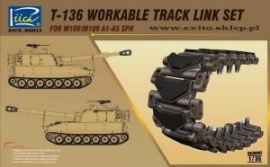 RIICH MODELS 30002 - 1:35 M108 / M109 A1-A5 SPH Workable Track Link Set