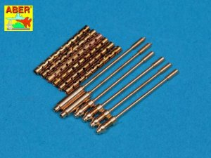ABER A32108 - 1:32 Set of 6 U.S. cal .50 (12,7mm) Browning M2 barrels for P-51 Mustang