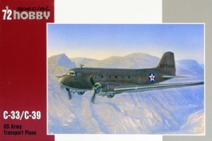 SPECIAL HOBBY 72176 - 1:72 C-33/C-39 US Army Transport Plane