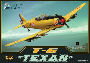 KITTY HAWK 32002 - 1:32 T-6 Texan