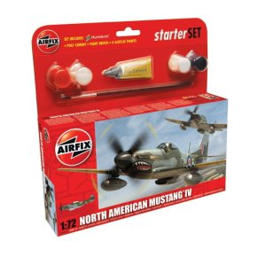AIRFIX 55107 - 1:72 North American Mustang IV (Starter Set)