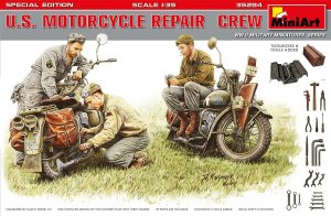 MINIART 35284 - 1:35 US Motorcycle Repair Crew Special Edition