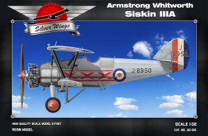 SILVER WINGS 32010 - 1:32 Armstrong Whitworth Siskin IIIA
