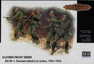 MASTER BOX 3522 - 1:35 Frontier Fighting, Summer 1941, German Infantry
