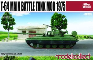 MODELCOLLECT UA72013 - 1:72 T-64 Main Battle Tank Mod 1975