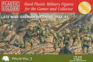 PLASTIC SOLDIER 20003 - 1:72 Late War German Infantry 1943-45
