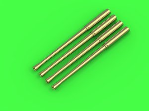 MASTER AM-144-022 - 1:144 Japanese Type 99 20mm Mark 2 cannon barrels (4pcs)