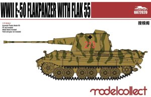 MODELCOLLECT UA72020 - 1:72 WWII E-50 Flakpanzer with Flak 55