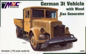 MAC 72065 - 1:72 Opel Blitz 3t with Gas Generator