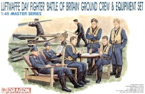 DRAGON 5532 - 1:48 Luftwaffe Day Fighter Ground Crew & Equipment Set - Battle of Britain