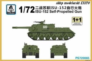 S-MODEL PS720065 - 1:72 ISU-152 Self-Propelled Gun