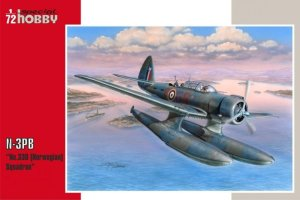 SPECIAL HOBBY 72250 - 1:72 Northrop N-3PB No.330 (Norwegian) Squadron