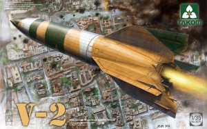 TAKOM 2075 - 1:35 V-2 WWII German Single Stage Ballistic Missile