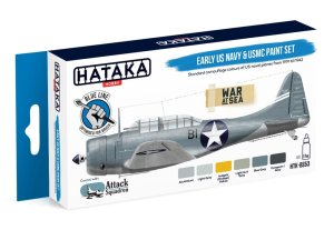 HATAKA BS53 - Early US Navy & USMC paint set