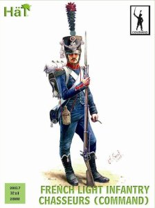 HAT 28017 - 28 mm - French Light Infantry Chasseurs (Command)