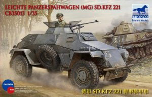 BRONCO CB 35013 - 1:35 Sdkfz 221 Armored Car