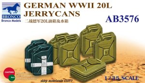 BRONCO AB 3576 - 1:35 German WWII 20L Jerry Cans