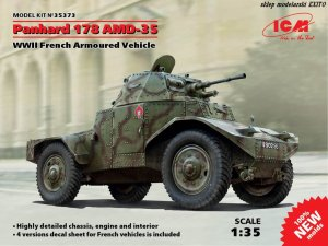 ICM 35373 - 1:35 Panhard 178 AMD-35 WWII French Armored Vehicle