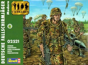 REVELL 02521 - 1:72 German Modern Paratroops