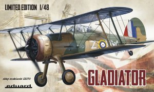 EDUARD 1145 - 1:48 Gloster Gladiator - Limited Edition