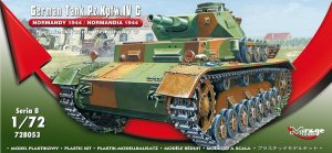 MIRAGE 728053 - 1:72 German Tank Pz.Kpfw. IV Ausf. C Normandy 1944