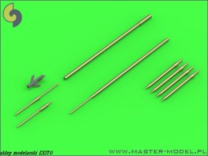 MASTER 48-120 - 1:48 Su-9 / Su-11 (Fishpot / Fishpot C) - Pitot Tubes and missile rails heads