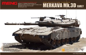 MENG MODEL TS001 - 1:35 Merkava Mk.3D Early