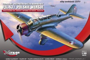 MIRAGE 481313 - 1:48 PZL.43 Polish version 1939 and prototype